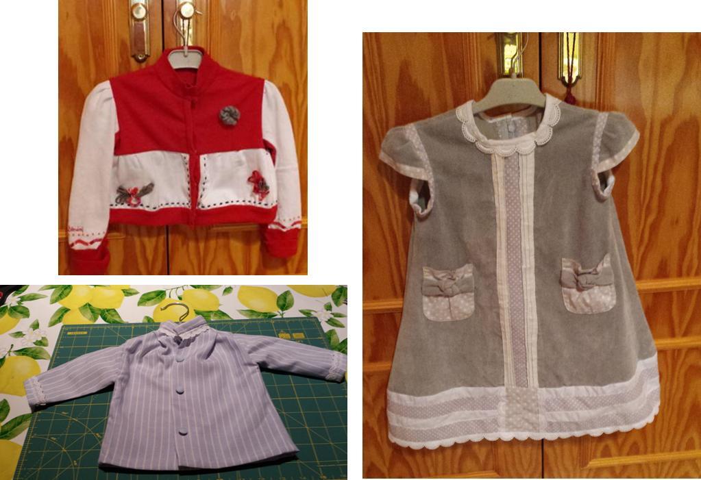 3 modelos para taller intensivo ropa infantil