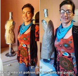 SEGUNDO DÍA_patrón del vestido en papel